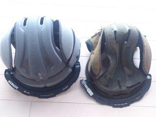 ヘルメットの内装を交換
