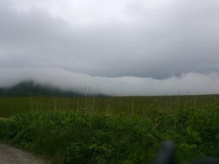 ツーリングで襟裳岬に向かう途中濃霧に襲われる