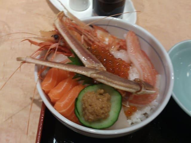 ホテルオホーツクパレスの海鮮丼