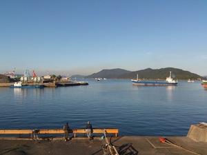 スオーナダフェリーに徳山港から乗船