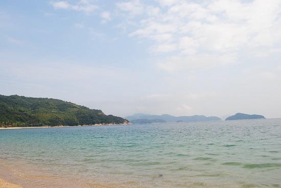 片添ヶ浜オートキャンプ場のコテージから眺める景色のイメージ