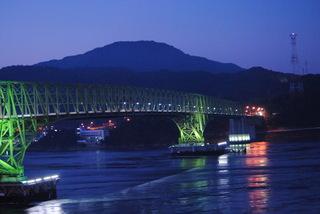 周防大島に掛る大島大橋