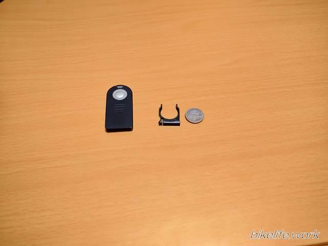 一眼レフカメラ用のリモコンの電池