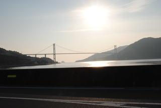 とびしま海道に掛る豊島大橋