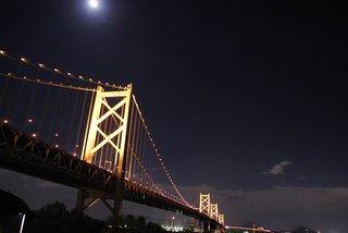 瀬戸大橋与島SA
