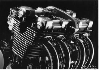 カッコいいXJR1200の空冷エンジン