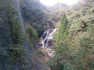 展望台から見る妹背の滝