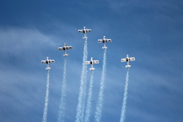 岩国の航空ショー