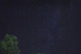 天気のいい夜の星空