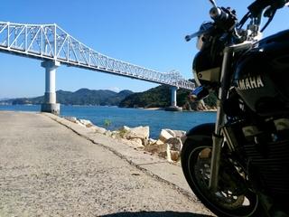 広島県最南端の鹿島に掛る鹿島大橋