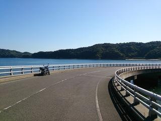 鹿島大橋そばの橋