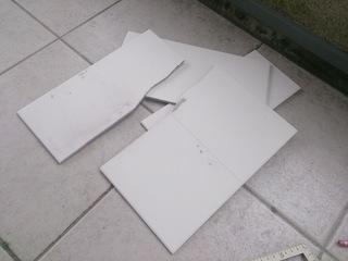 エコカラットの切り損じた端材