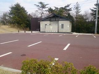 絵下山山頂の駐車場