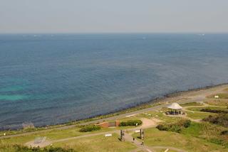 角島灯台からの海方向の眺望