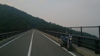 野呂山に掛かる天空の橋
