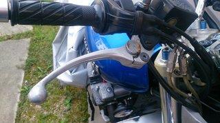 XJR1200の純正ブレーキレバー