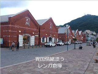 写真を使った自作動画函館の金森倉庫にて