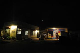 キャンプイン潮岬の夜