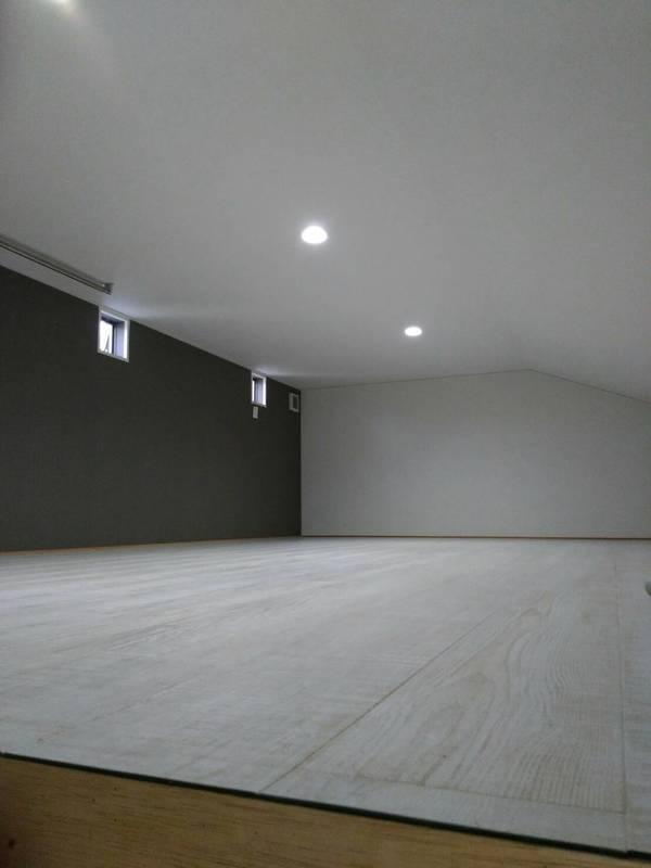屋根裏収納のリフォーム完成