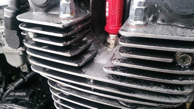 バイクの塗膜の剥がれたエンジンをDIYで自家塗装に挑戦~準備編~