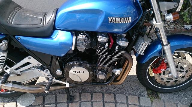 バイクのエンジンの塗装完成
