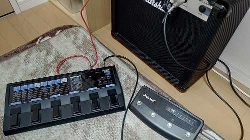 シールドで楽器と機材をつなぐ