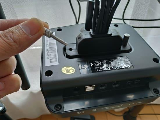 ALESISの電子ドラムを結線する