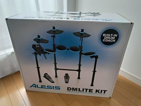 ALESISの電子ドラムの重さ
