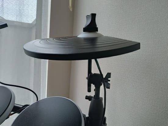 ALESISの電子ドラムのシンバル調整