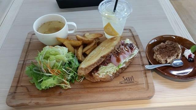 Cafe&Dining「SAN」のサンドイッチ