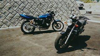XJR1200とXJR400