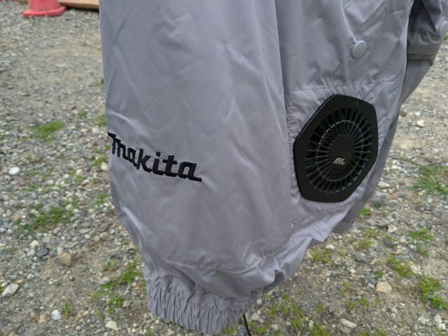 マキタの空調服ファンジャケット