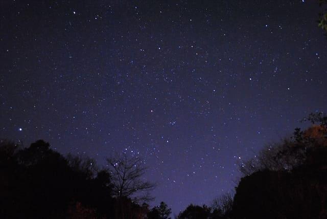 入門機とキットレンズで撮影した星空