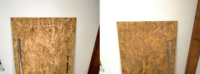 ワークデスクの天板を塗装する