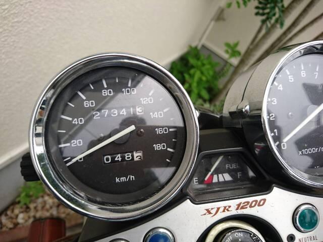 3万キロが近づいてきたXJR1200