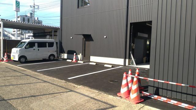 カワサキプラザ広島の駐車場