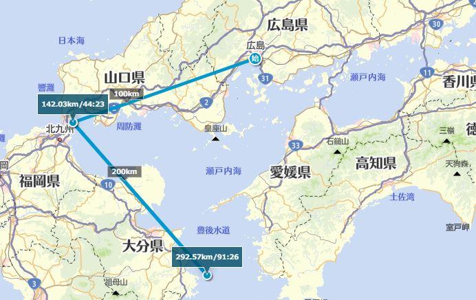九州の残りの2端