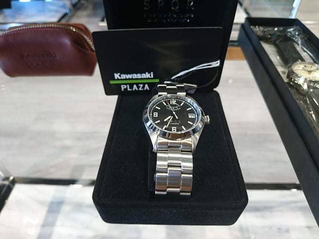カワサキの腕時計