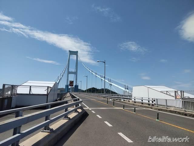 青空と安芸灘大橋