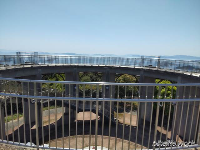 十文字山展望台からの景色