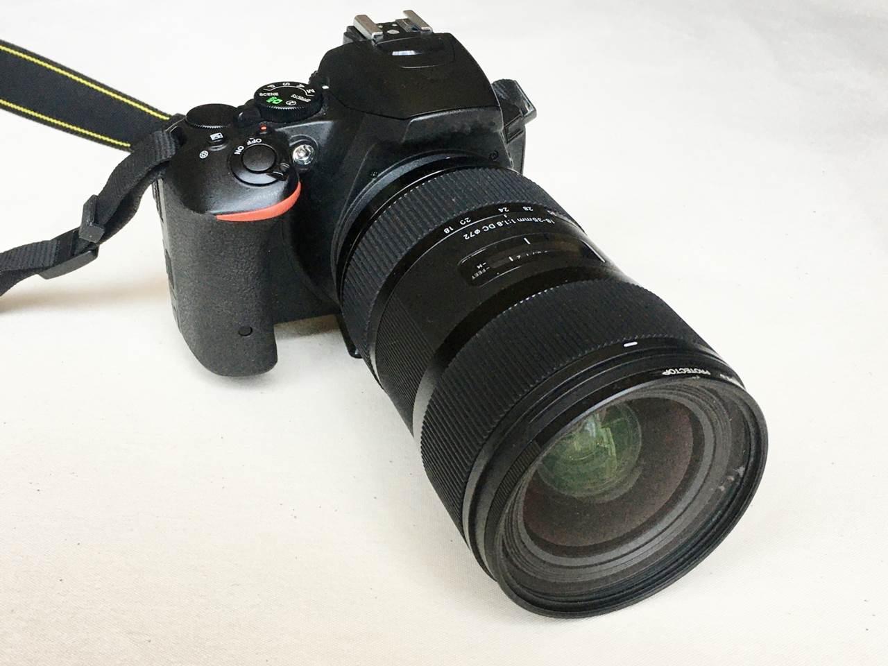 Nikonの一眼レフカメラ