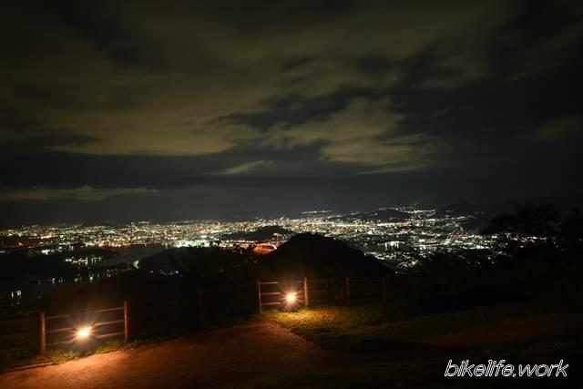 Z5のキットレンズで撮影した夜景