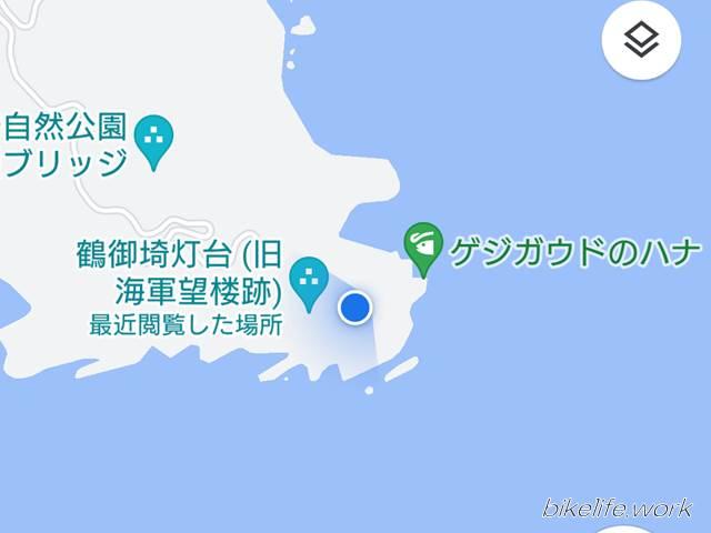 鶴御崎の詳細地図
