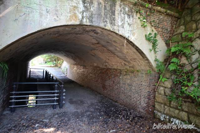 大久野島の砲台トンネル